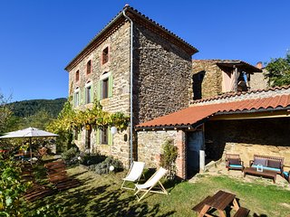Country house in the Gorges de l'Allier in Auvergne.