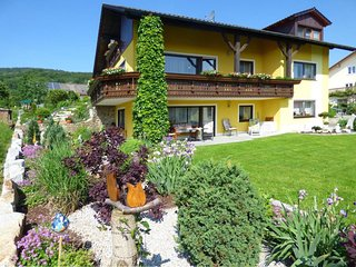Apartment on the 1st floor of a country house in the Bavarian Forest with balcon