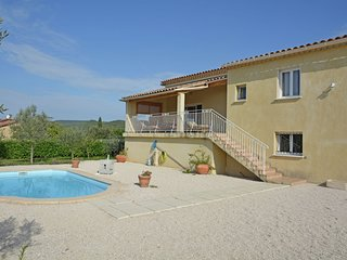 Valley View Villa Saint-Laurent-de-Carnols with Pool in