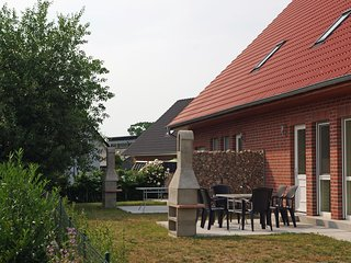 Idyllic Holiday Home in Zierow with Roofed Terrace