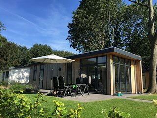 Comfortable chalet with dishwasher, within the De Veluwe