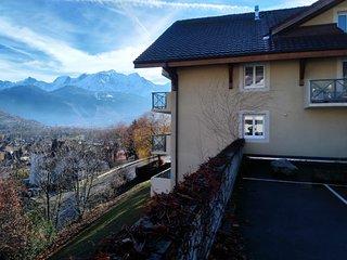 Spacious Apartment in Sallanches near Ski Area