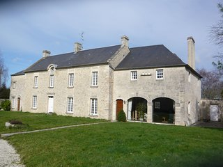 Spacious house near the historic town of Bayeux and only 9km from the sea.