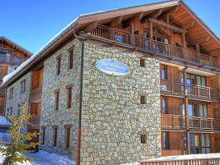 Big apartment in the French-Italian ski resort San Bernardo
