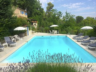 Villa in Provence with beautiful view, walking distance from Sillans-la-Cascade