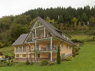 Beautiful apartment in the heart of the Black Forest with private balcony