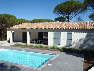 Villa with air conditioning, private pool in Provence, half an hour drive from t