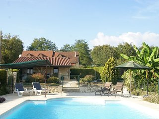 Beautiful holiday home with fine private swimming pool in the cultural surroundi