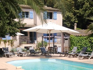 Villa and heated pool in Sainte Maxime