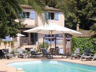 Villa and heated pool in Sainte Maxime