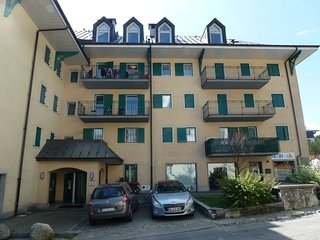 Apartment on the 1st floor a residence located in the heart of Chamonix.