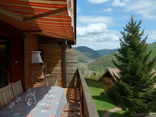 Fabulous Mountain View Chalet with Sauna in La Bresse
