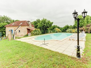 Serene Holiday Home in Besse with Swimming Pool