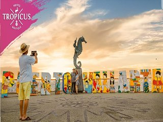 Tropicus 8 Zona Romantica Habitacion Estudio con Terraza