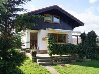 Holiday home in the Thuringian Forest with tiled stove, fenced garden and terrac