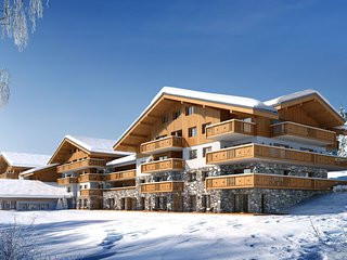 Luxurious apartment on the slopes in a nice mountain village