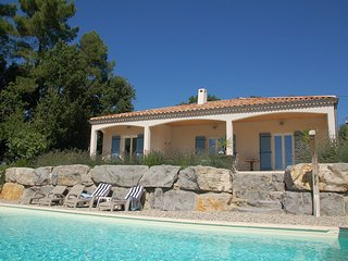 Single storey villa with private pool in Mediterranean Ardèche