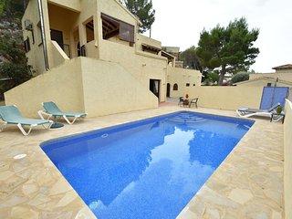 Charming Villa in Altea with Private Swimming Pool