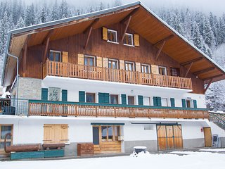 Cozy chalet directly at the ski resort Portes du Soleil