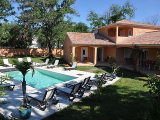 Spacious Villa in Moriani-Plage with Swimming Pool