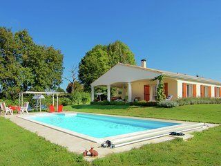 A delightful house in a quiet area near the border of the Dordogne.