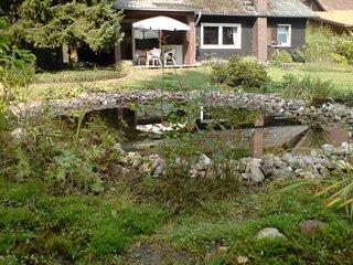 Contemporary Chalet in Winsen with garden