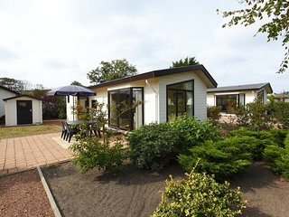 Well-kept chalet with dishwasher, in Noordwijk, sea at 2.5km