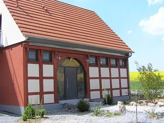 Attractive holiday home in Castell Bavaria, with barbecue