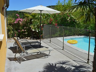 Comfortable villa with private swimming pool and close to the Ardeche River