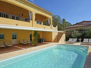 Spacious luxury villa with private heated pool and stunning views