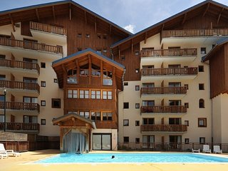 Comfortable apartment located at the ski slopes in Valfréjus