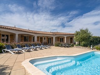 Luxury detached villa offering plenty of privacy and heated swimming pool