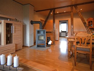 Apartment in the western part of the Sauerland on a farm with alpacas and horses