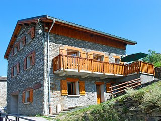 Chalet with lots of character located in a traditional mountain hamlet