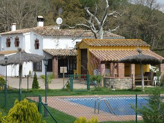 A farmhouse, with a private swimming pool in the Costa Brava.