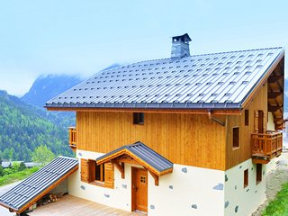 Luxury chalet with views of Courchevel and the Vanoise summits