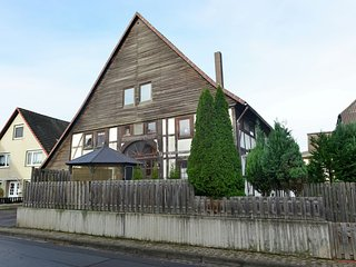 Wonderful holiday home in the Weser Uplands in a lovely half-timbered home with