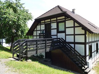 Cosy apartment near lake Edersee in a half-timbered house with terrace