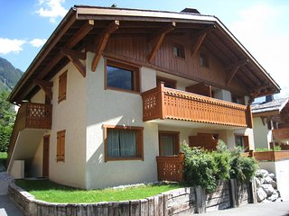 Ground floor of a chalet located at 10 minutes walk from the centre of Chamonix
