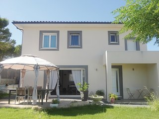 Nice home in Abeilhan w/ Outdoor swimming pool, WiFi and Outdoor swimming pool