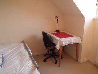 Sunny Lakeside Single Room