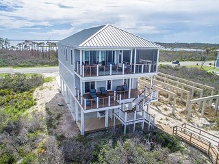 North Cape New Construction Gulf Front, Bay views and gear included!