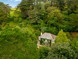 Enchanting large house in beautiful, private grounds near Tintagel