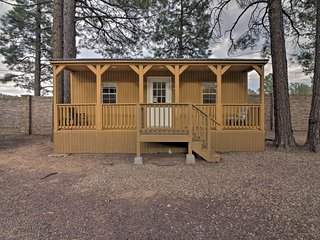 Show Low Cabin w/Amenities, 13 Mi to Hon-Dah!