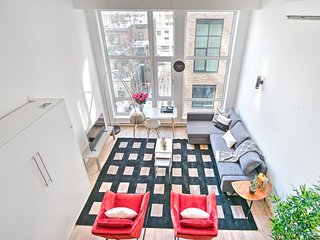 Downtown 403 Central Sunny Duplex Wow Liv MTL 5 ★⚡️