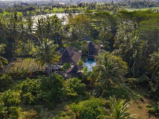Villa Crystal Castle luxury Ubud retreat villa