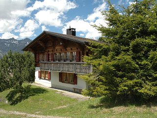 Detached chalet on the alm, great views, privat garden, well equipped