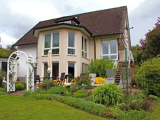 Apartment in Teutoburg Forest in an attractive location with garden and sunbathi