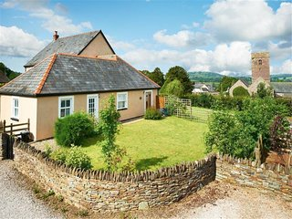 A delightful little cottage with large garden and views to The Black Mountains
