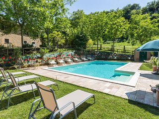 Quaint Villa in Sant'Elena with Swimming Pool